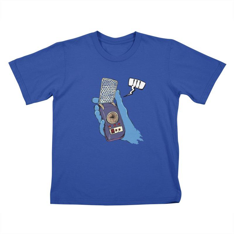 Bad Communication Kids T-Shirt by Kodi Sershon