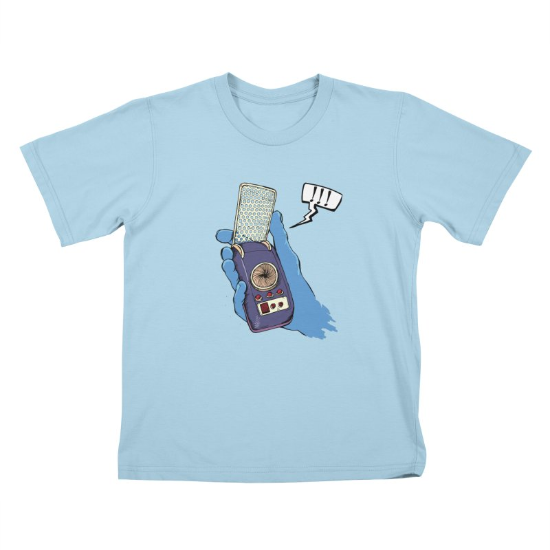 Bad Communication Kids T-shirt by Kodi Sershon
