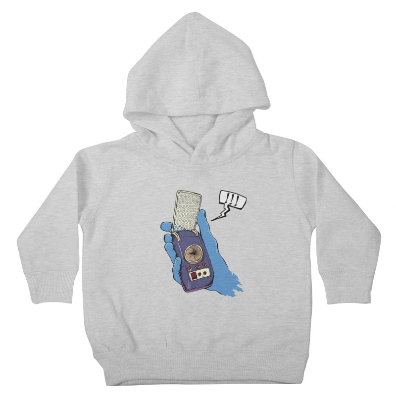 Bad Communication Kids Toddler Pullover Hoody by Kodi Sershon