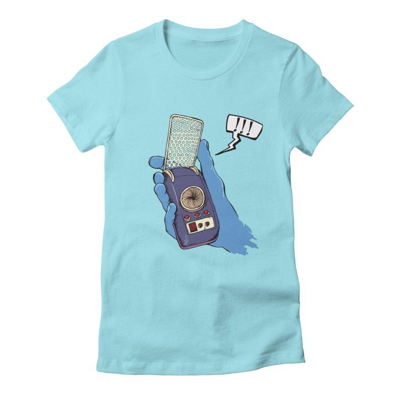 Bad Communication Women's Fitted T-Shirt by Kodi Sershon