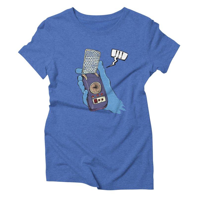 Bad Communication Women's Triblend T-shirt by Kodi Sershon