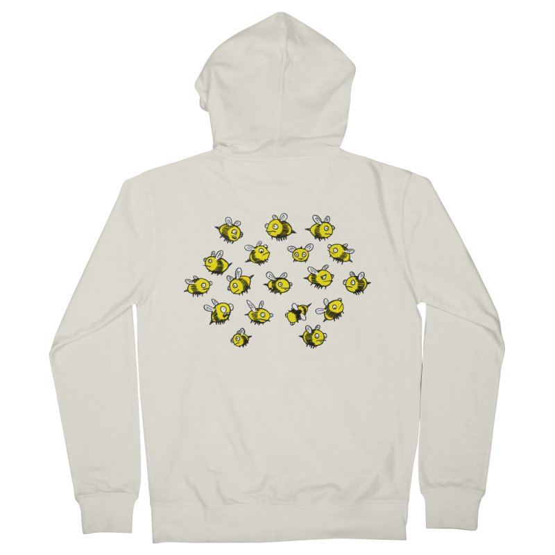 Bees? Men's Zip-Up Hoody by Kodi Sershon