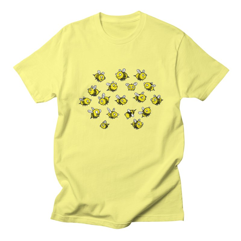Bees? Men's T-shirt by Kodi Sershon