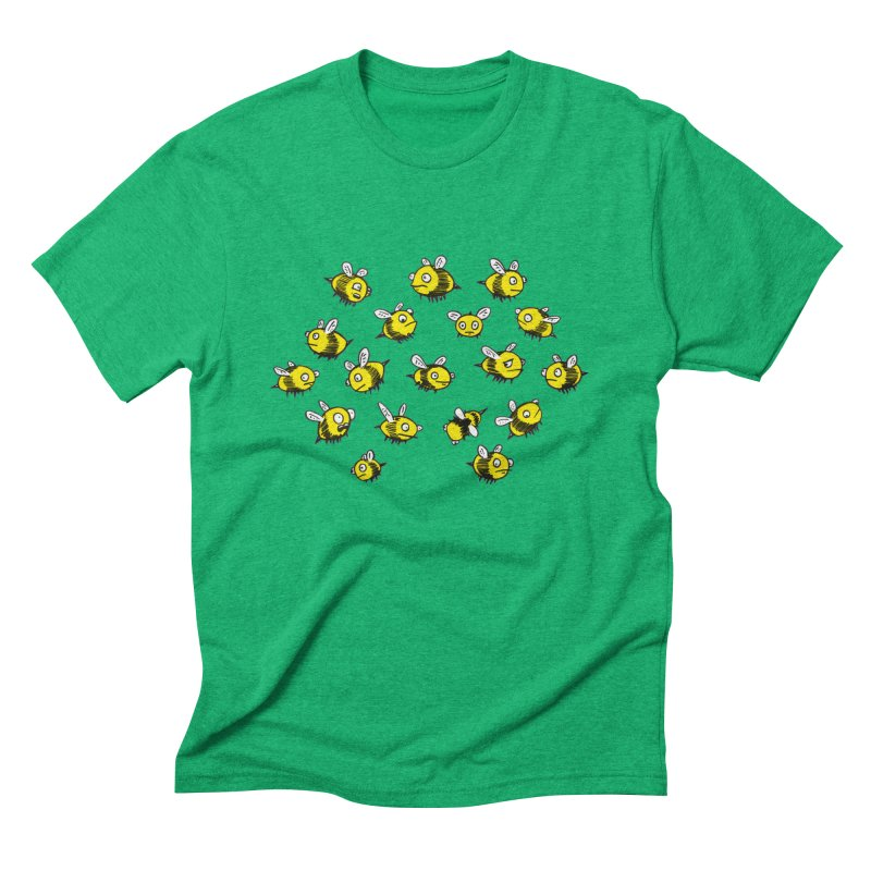 Bees? Men's Triblend T-shirt by Kodi Sershon