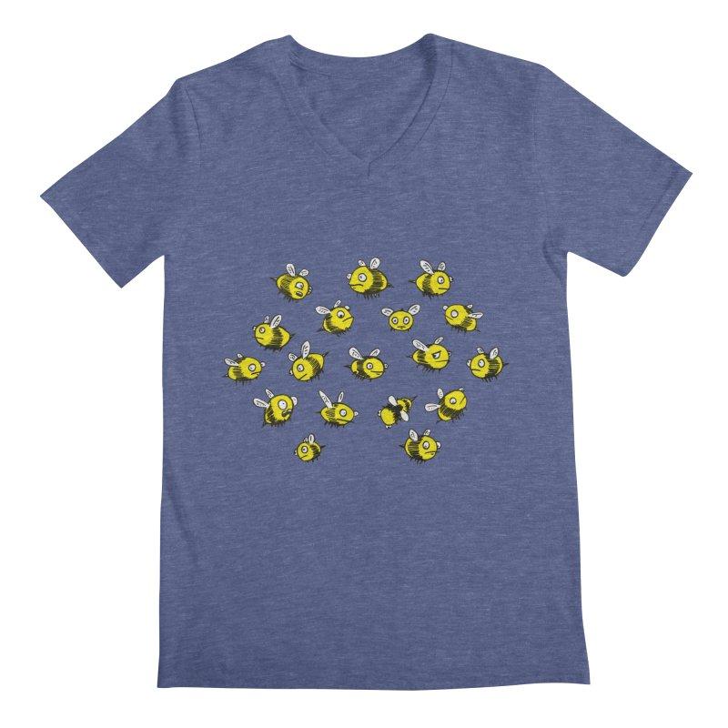 Bees? Men's Regular V-Neck by Kodi Sershon