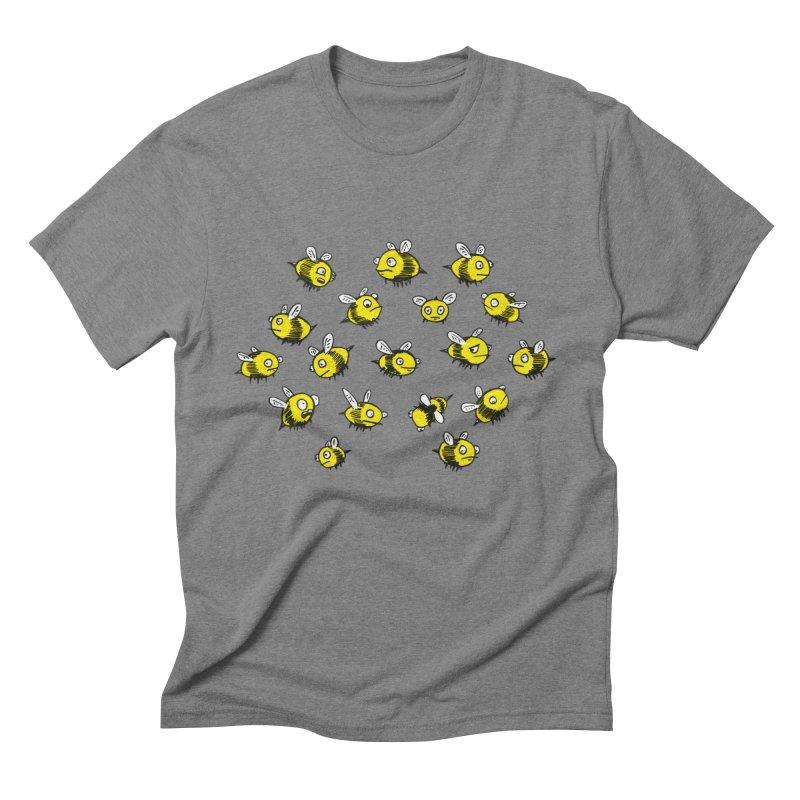 Bees? Men's Triblend T-shirt by Kodi Sershon