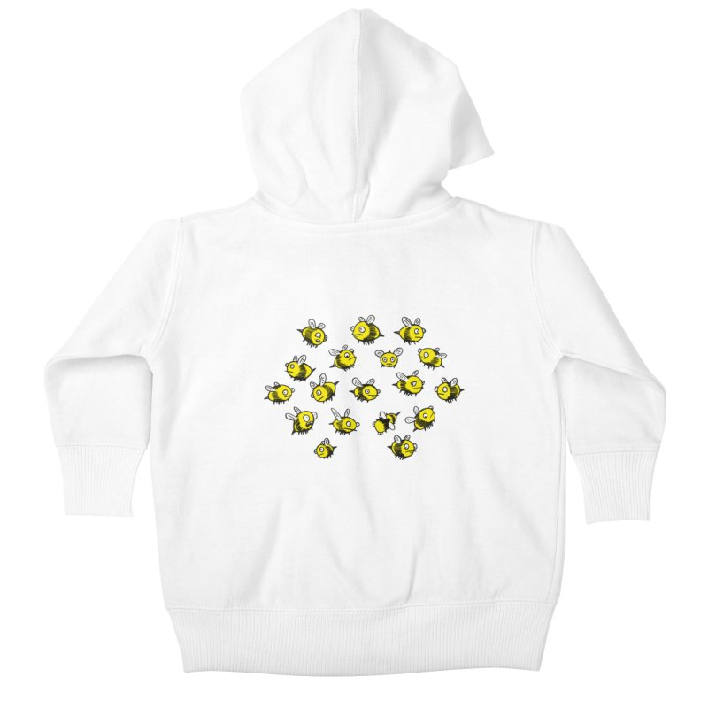 Bees? Kids Baby Zip-Up Hoody by Kodi Sershon