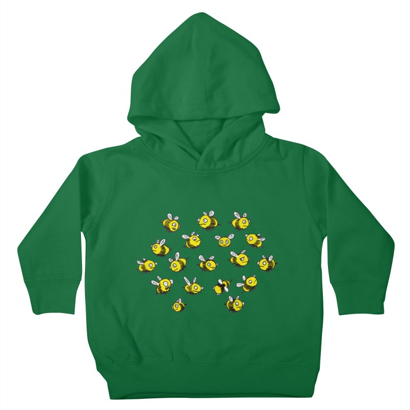 Bees? Kids Toddler Pullover Hoody by Kodi Sershon