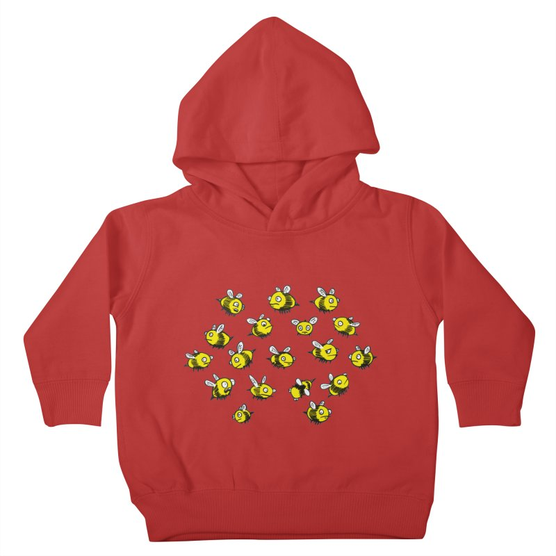 Bees? Kids Toddler Pullover Hoody by Kodi Sershon