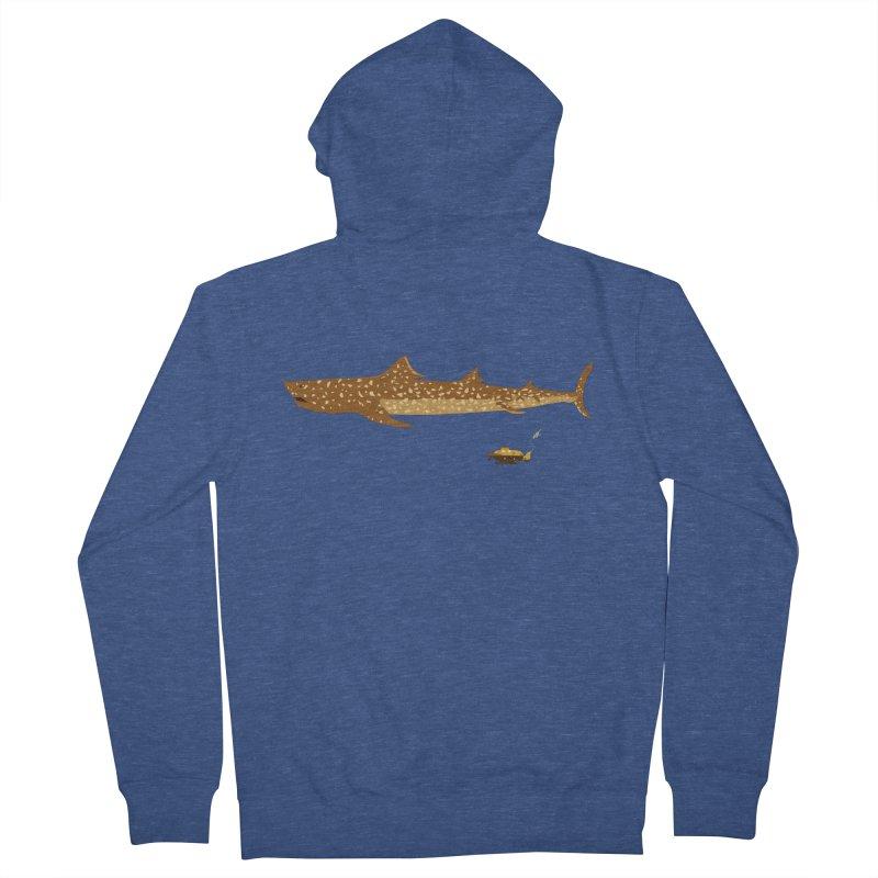 Adventure #12: The Jaguar Shark (Part 2) Men's Zip-Up Hoody by Kodi Sershon