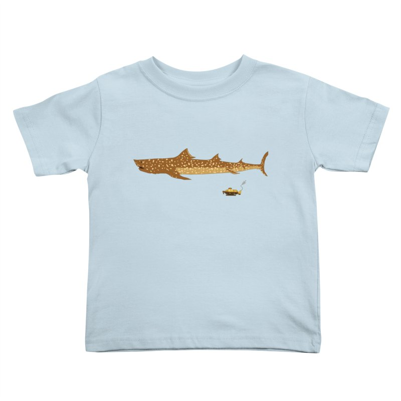 Adventure #12: The Jaguar Shark (Part 2) Kids Toddler T-Shirt by Kodi Sershon