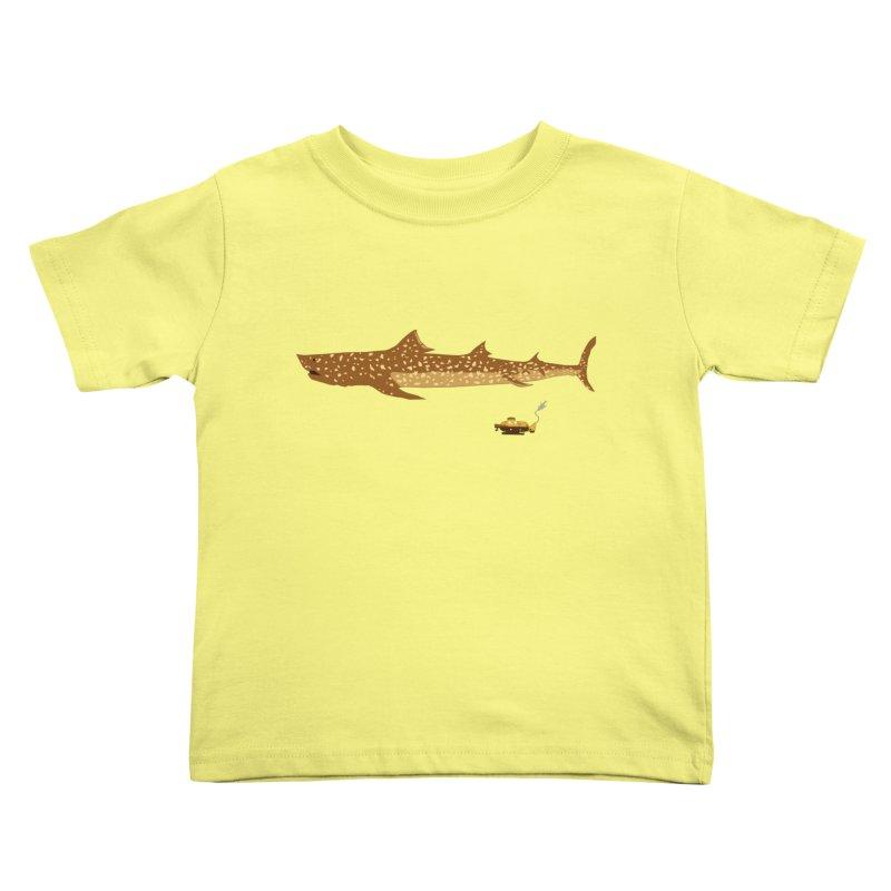 Adventure #12: The Jaguar Shark (Part 2) Kids Toddler T-Shirt by Kodi Sershon
