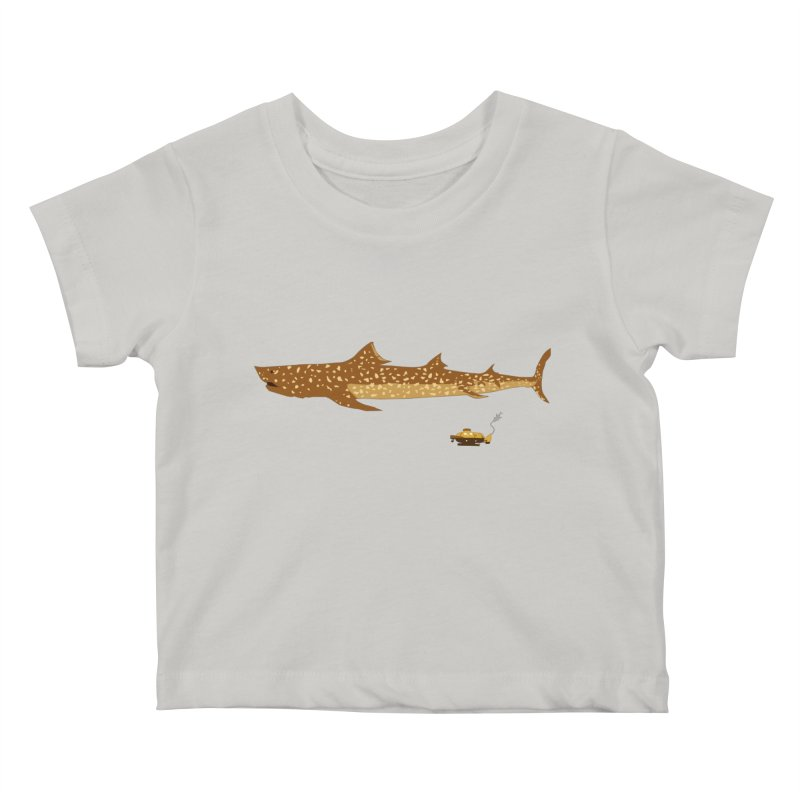 Adventure #12: The Jaguar Shark (Part 2) Kids Baby T-Shirt by Kodi Sershon