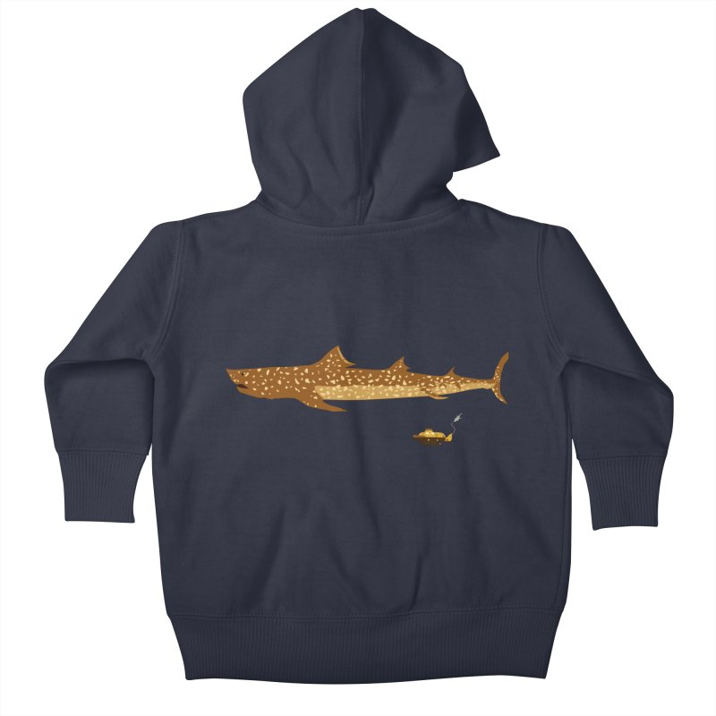 Adventure #12: The Jaguar Shark (Part 2) Kids Baby Zip-Up Hoody by Kodi Sershon