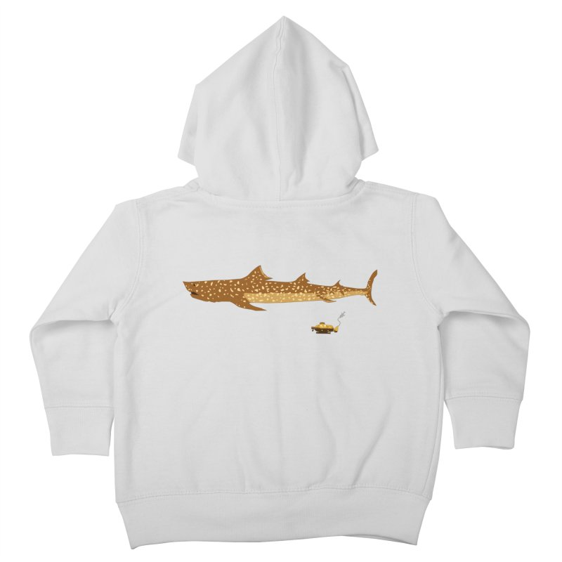 Adventure #12: The Jaguar Shark (Part 2) Kids Toddler Zip-Up Hoody by Kodi Sershon