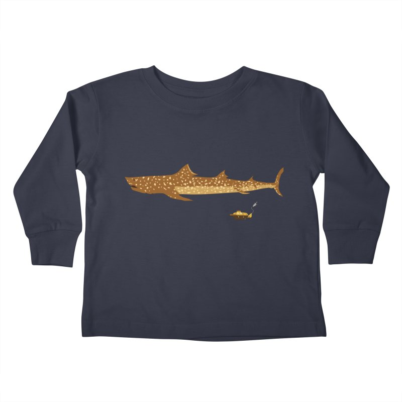 Adventure #12: The Jaguar Shark (Part 2) Kids Toddler Longsleeve T-Shirt by Kodi Sershon