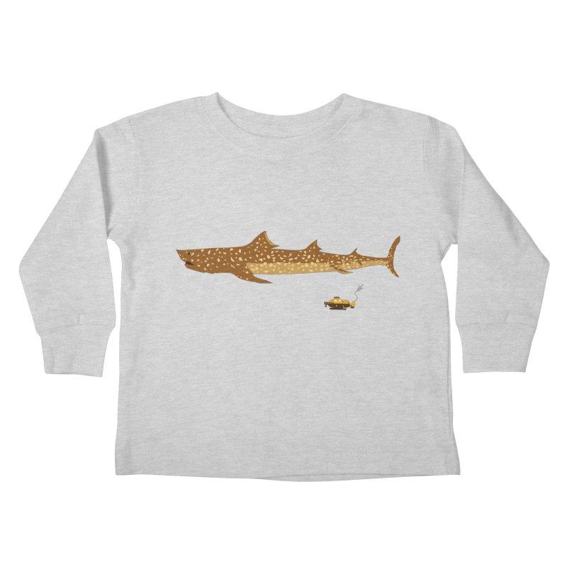 Adventure #12: The Jaguar Shark (Part 2) Kids Toddler Longsleeve T-Shirt by Kodi Sershon