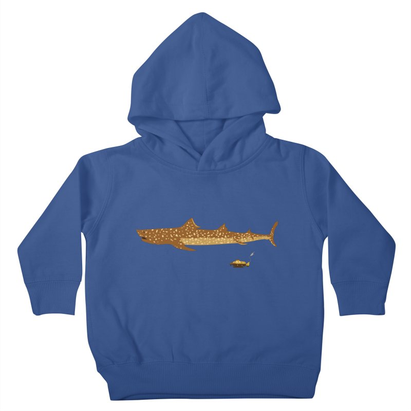 Adventure #12: The Jaguar Shark (Part 2) Kids Toddler Pullover Hoody by Kodi Sershon