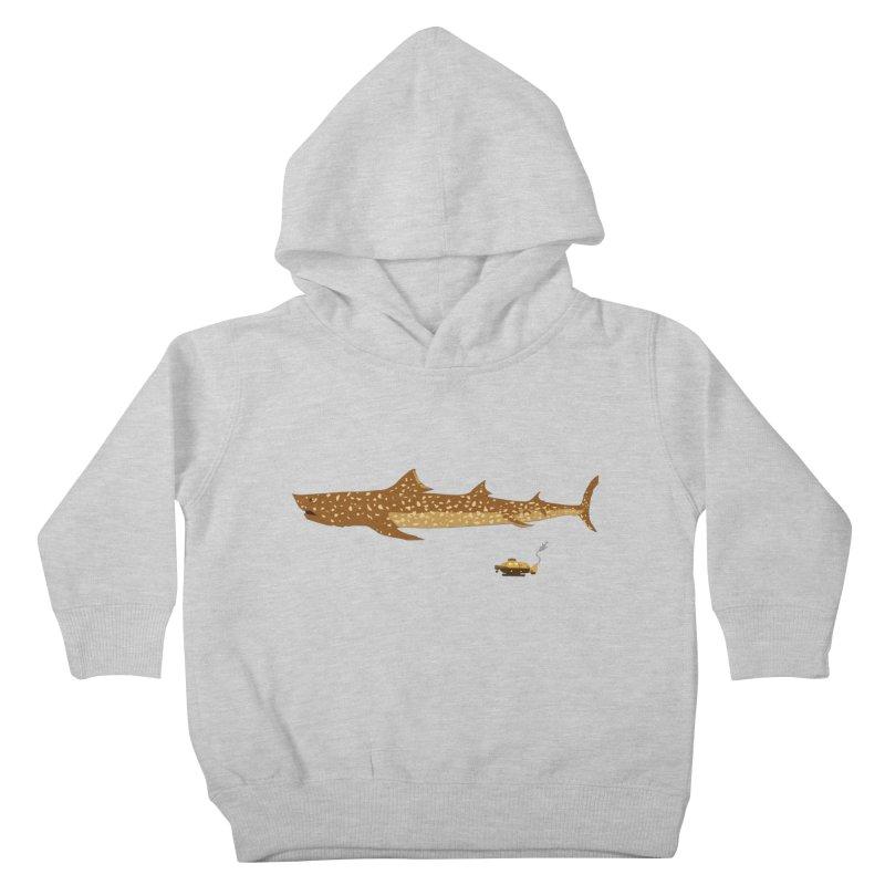 Adventure #12: The Jaguar Shark (Part 2) Kids Toddler Pullover Hoody by Kodi Sershon