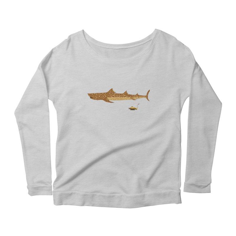 Adventure #12: The Jaguar Shark (Part 2) Women's Scoop Neck Longsleeve T-Shirt by Kodi Sershon