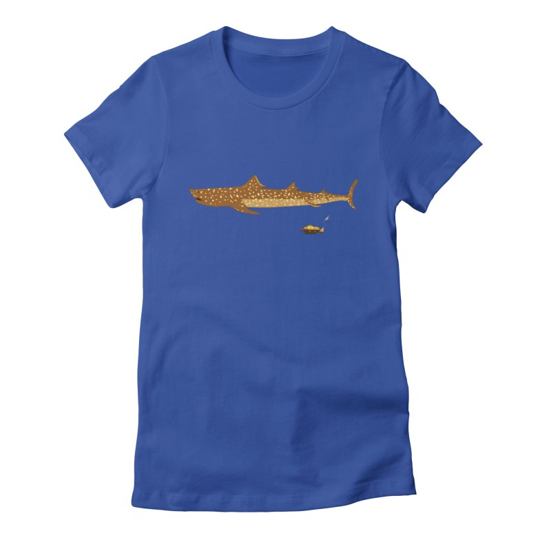 Adventure #12: The Jaguar Shark (Part 2) Women's Fitted T-Shirt by Kodi Sershon