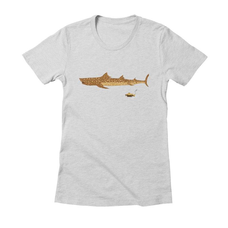 Adventure #12: The Jaguar Shark (Part 2) Women's Fitted T-Shirt by Kodi Sershon