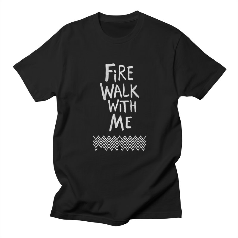 Fire Walk With Me Men's T-shirt by Kodi Sershon