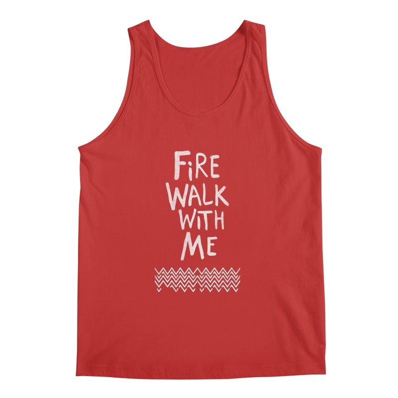 Fire Walk With Me Men's Regular Tank by Kodi Sershon