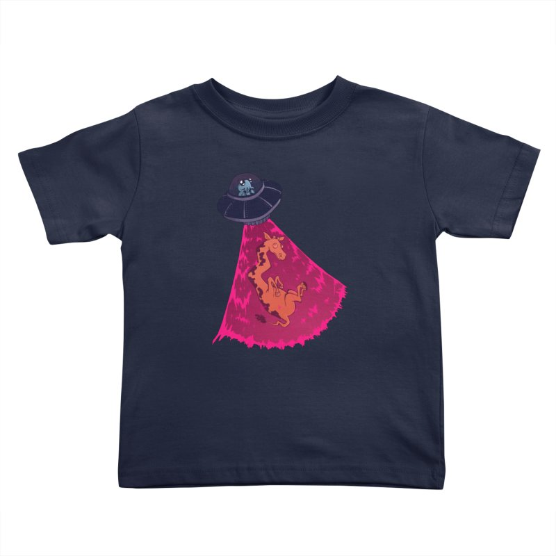 Xip's Awkward Abduction Kids Toddler T-Shirt by Kodi Sershon