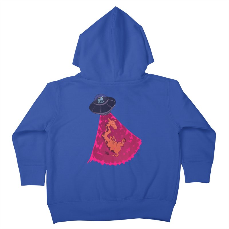 Xip's Awkward Abduction Kids Toddler Zip-Up Hoody by Kodi Sershon