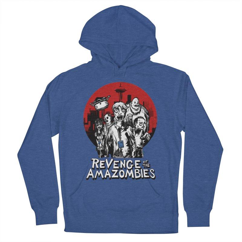 Revenge of the Amazombies Women's Pullover Hoody by Kodi Sershon