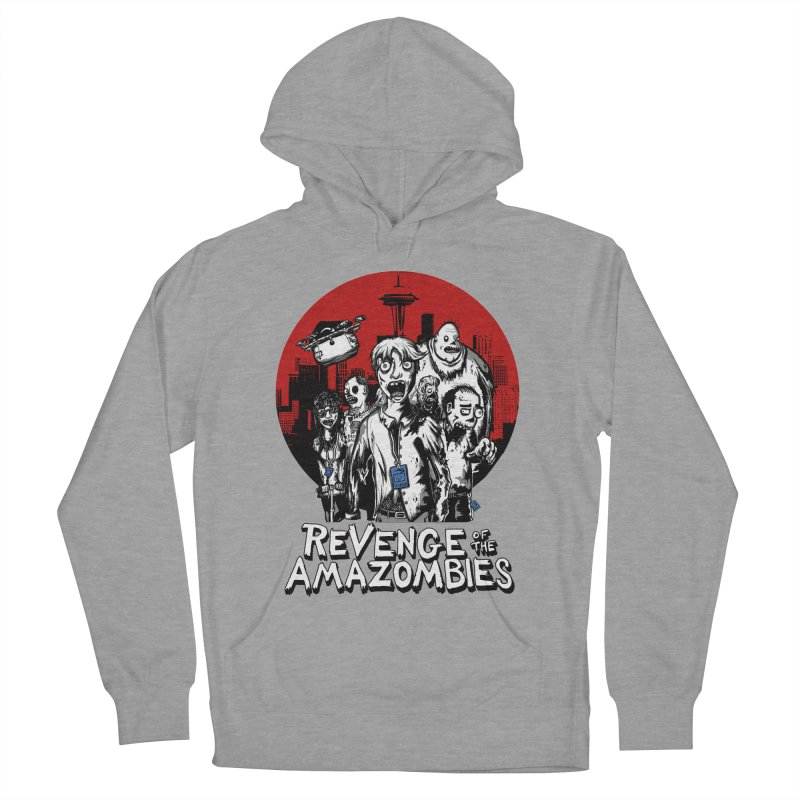Revenge of the Amazombies Men's Pullover Hoody by Kodi Sershon