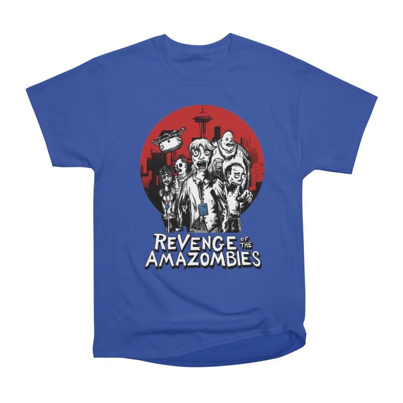 Revenge of the Amazombies Men's Heavyweight T-Shirt by Kodi Sershon