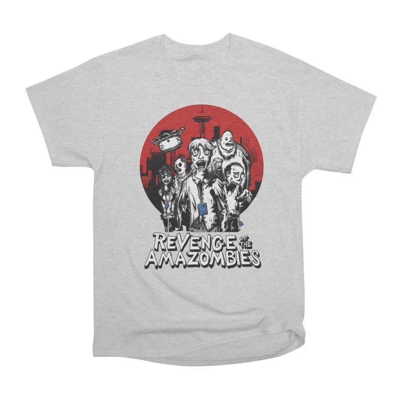 Revenge of the Amazombies Men's Classic T-Shirt by Kodi Sershon