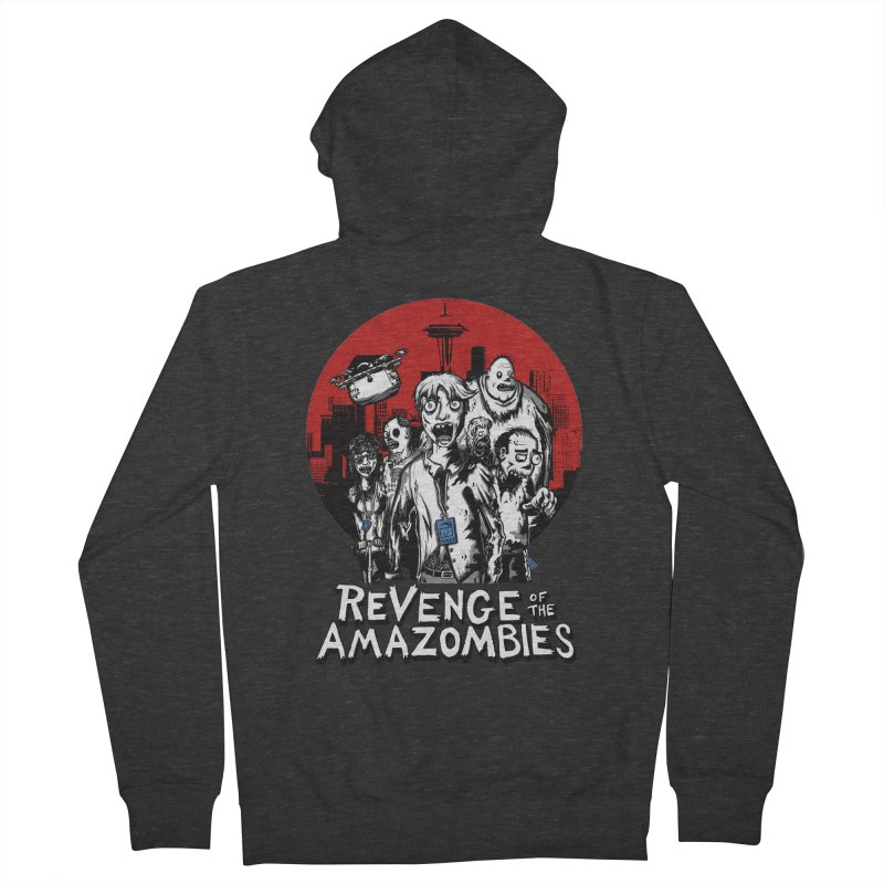 Revenge of the Amazombies Women's French Terry Zip-Up Hoody by Kodi Sershon