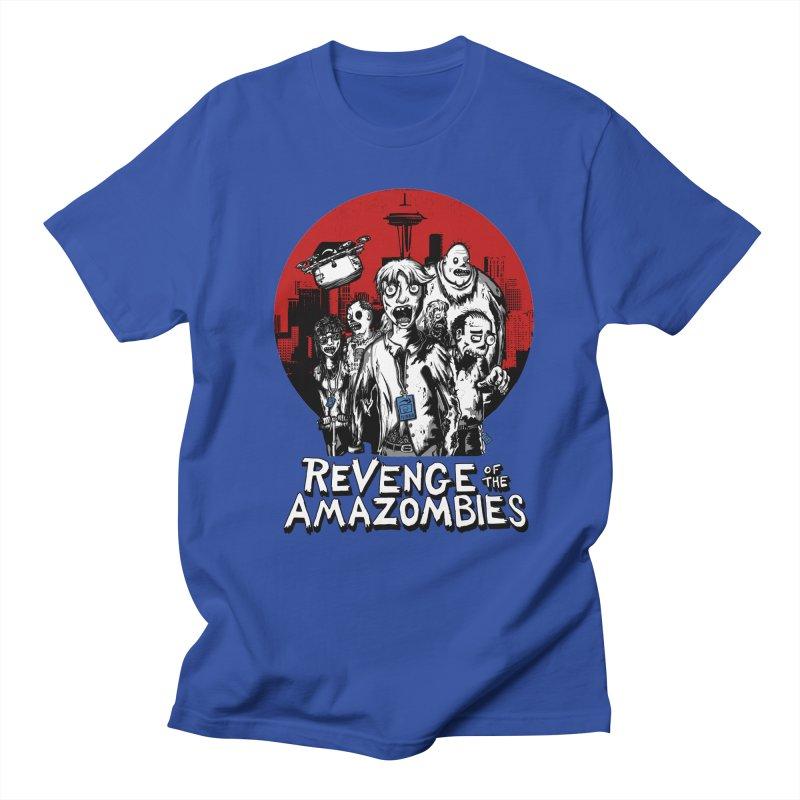 Revenge of the Amazombies Women's Regular Unisex T-Shirt by Kodi Sershon