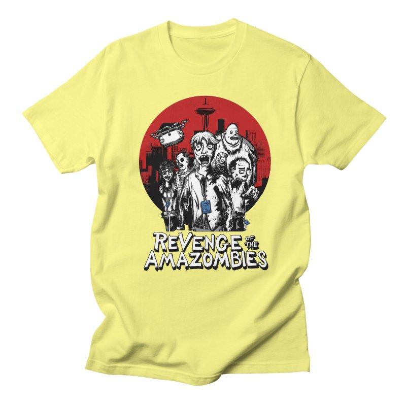 Revenge of the Amazombies Men's T-Shirt by Kodi Sershon