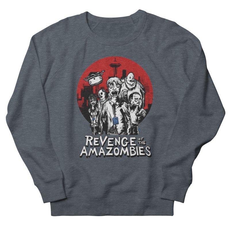 Revenge of the Amazombies Men's Sweatshirt by Kodi Sershon