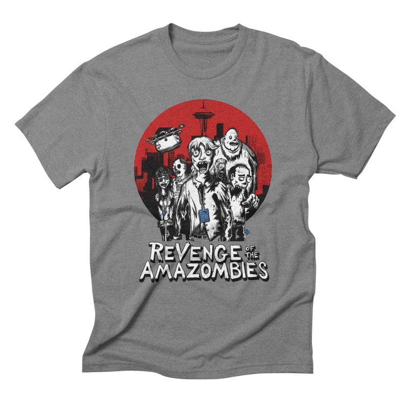 Revenge of the Amazombies Men's Triblend T-Shirt by Kodi Sershon