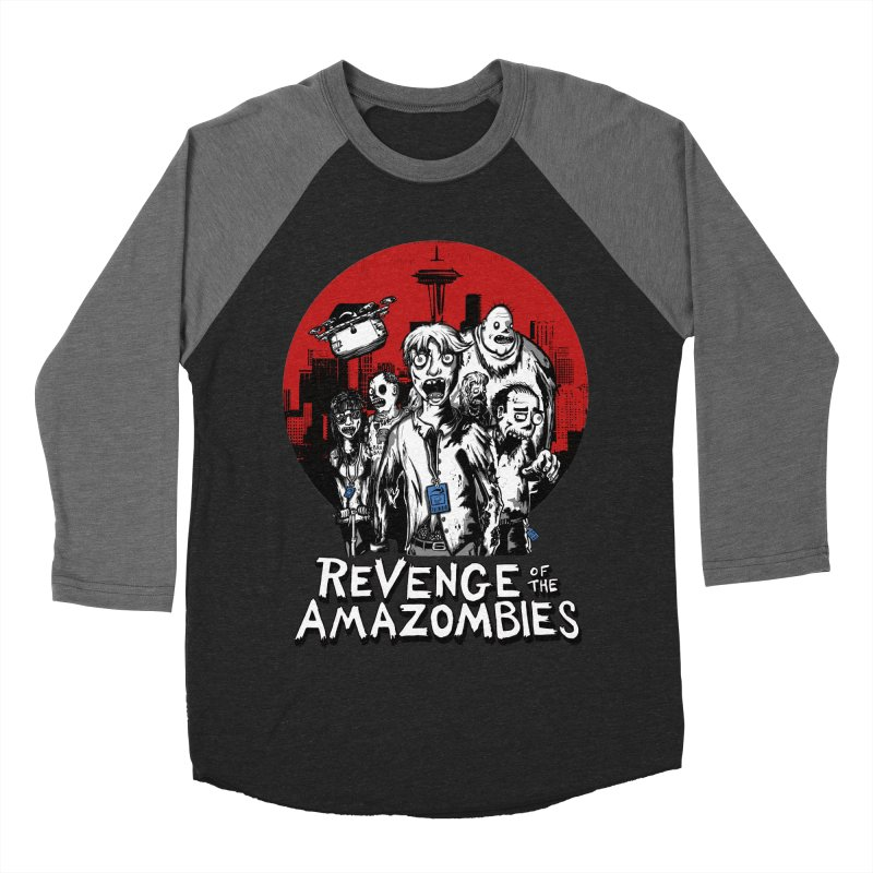Revenge of the Amazombies Women's Baseball Triblend T-Shirt by Kodi Sershon