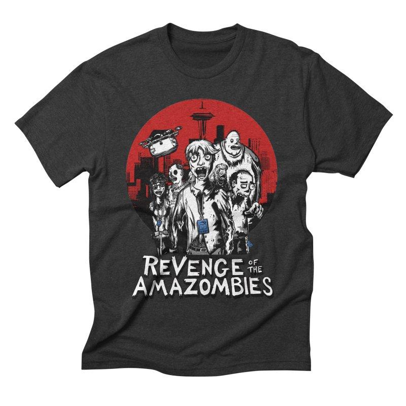 Revenge of the Amazombies Men's Triblend T-shirt by Kodi Sershon