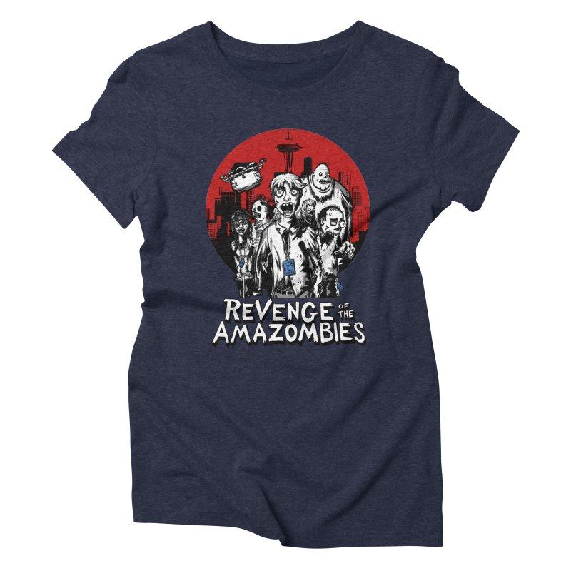 Revenge of the Amazombies Women's Triblend T-Shirt by Kodi Sershon