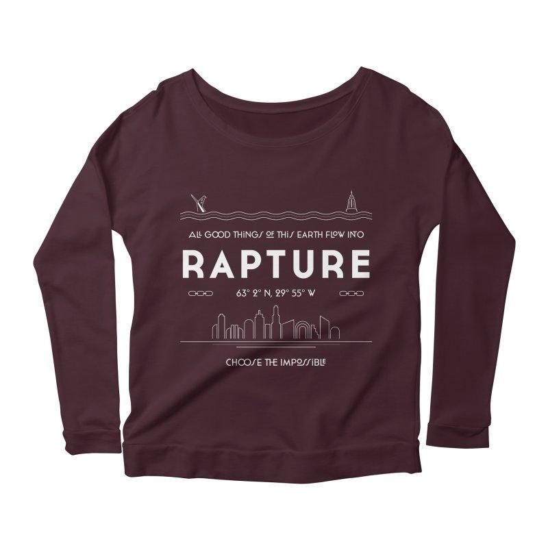 Rapture Women's Longsleeve Scoopneck  by Kodi Sershon