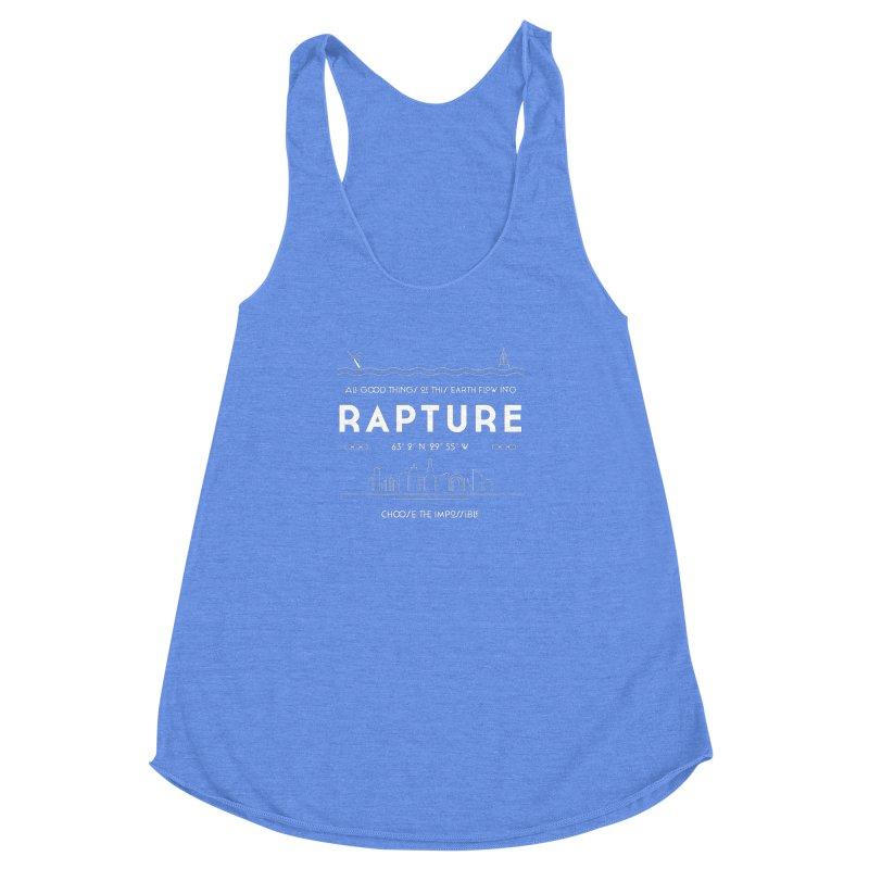 Rapture Women's Racerback Triblend Tank by Kodi Sershon