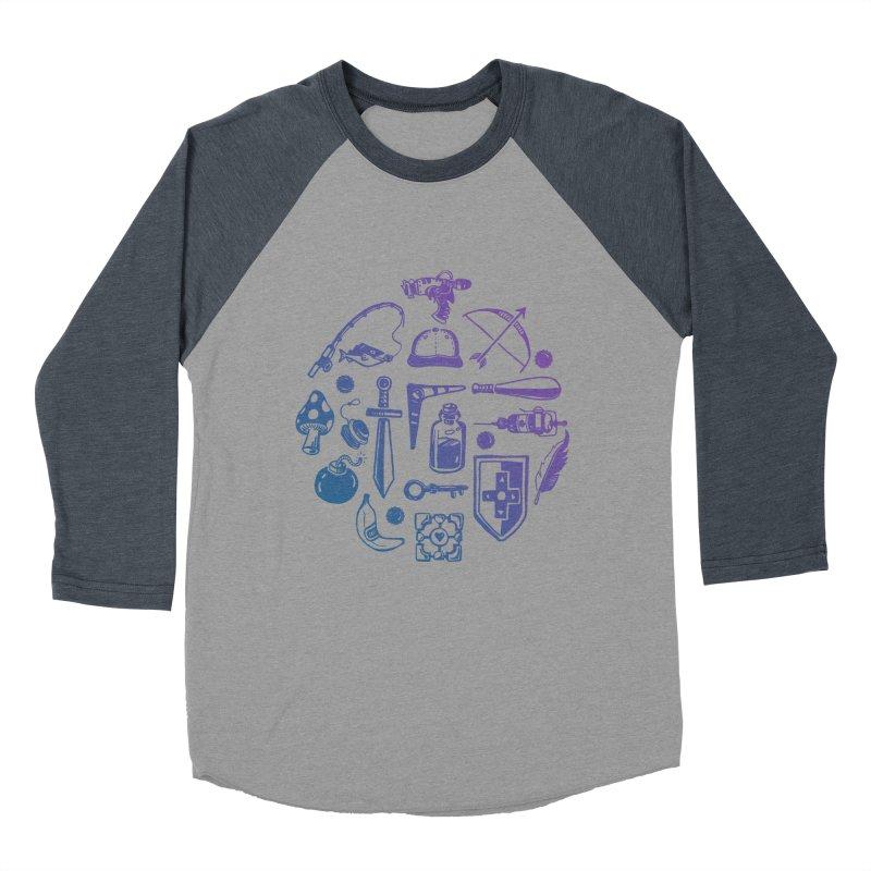 Item Shop Men's Baseball Triblend Longsleeve T-Shirt by Kodi Sershon