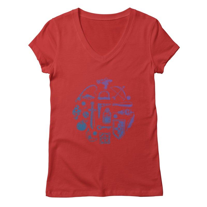 Item Shop Women's Regular V-Neck by Kodi Sershon