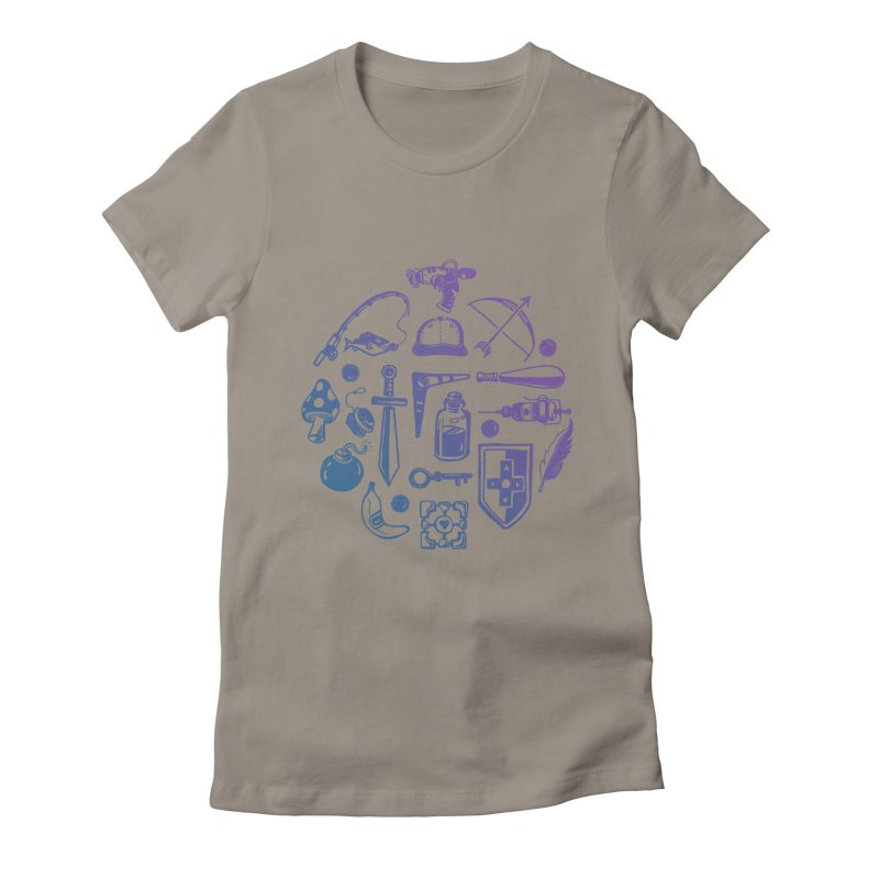 Item Shop Women's Fitted T-Shirt by Kodi Sershon