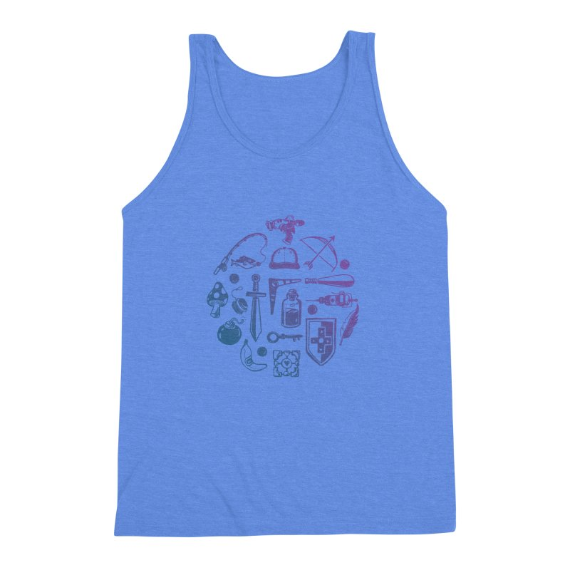 Item Shop Men's Triblend Tank by Kodi Sershon