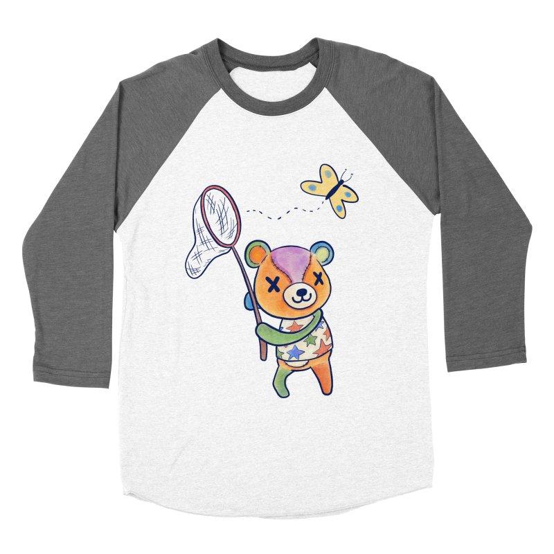 Stitches Women's Baseball Triblend Longsleeve T-Shirt by Kodi Sershon