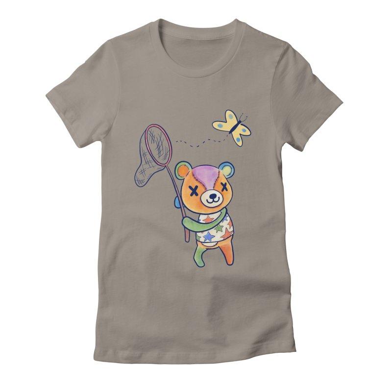 Stitches Women's Fitted T-Shirt by Kodi Sershon